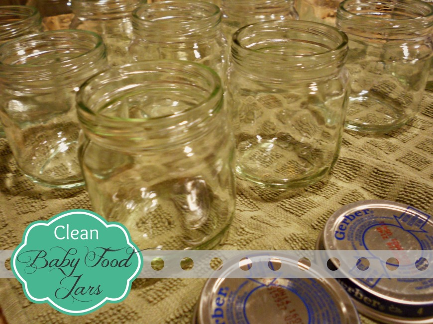 Clean and Dry Jar and Lids